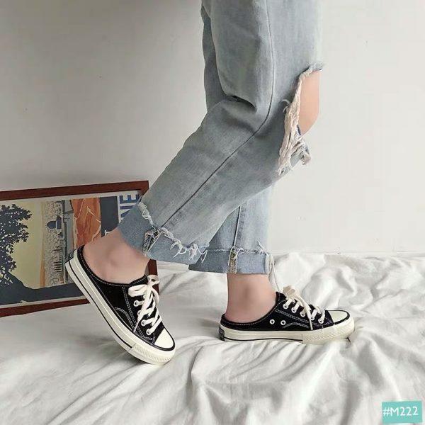 giày sục thể thao nữ