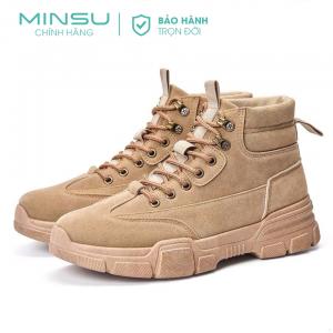 Giày boot nam MIN M3312
