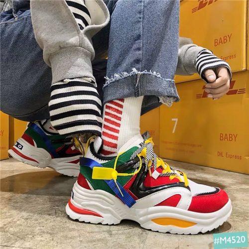Mẫu giày hưởng ứng pride month