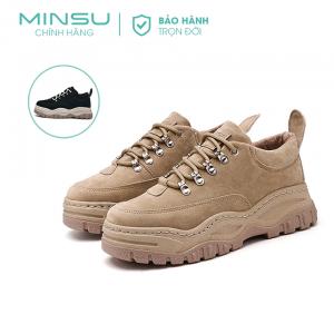 Giày Platform MINSU M4209