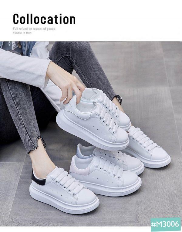giày trắng sneaker