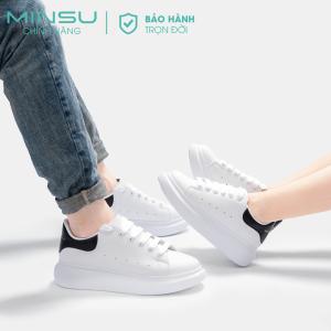 Sneaker trắng nam nữ