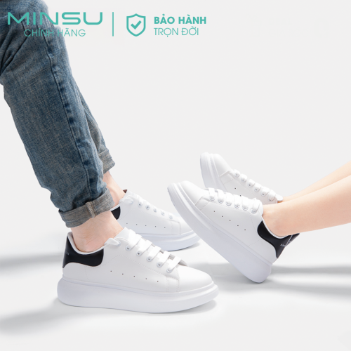 Sneaker cặp đôi trắng nam nữ