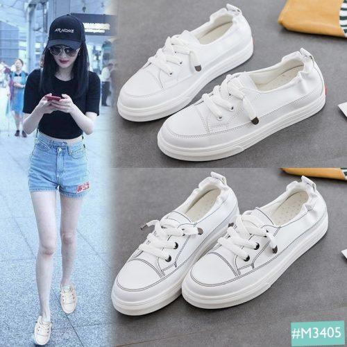 Giày Bata nữ màu trắng