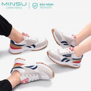 Giày sneaker nam nữ MINSU classic