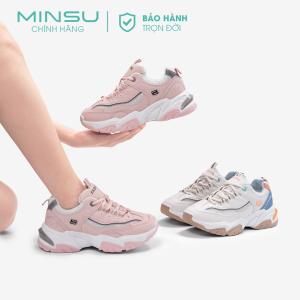 Giày thể thao độn đế nữ