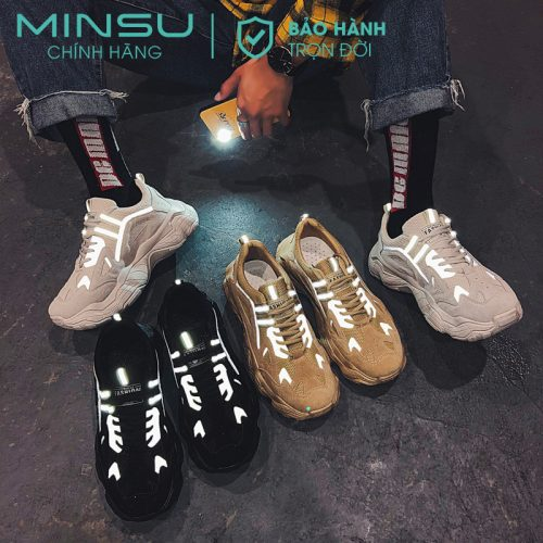 sneaker phản quang nam