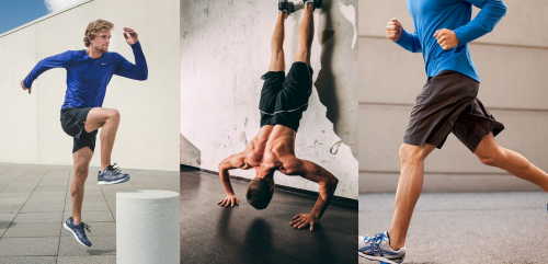 giày thể thao dành cho nam tập gym
