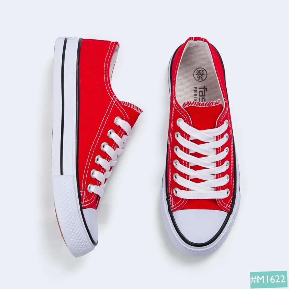 Giày Bata nữ màu đỏ