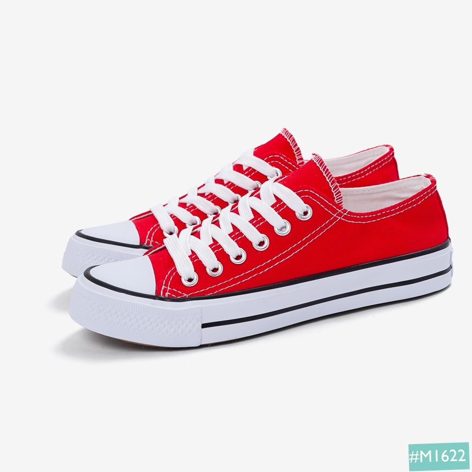 Giày Bata cặp đôi MINSU màu đỏ