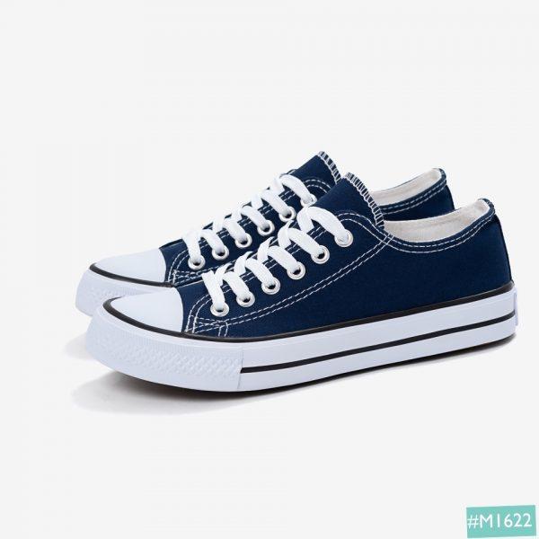 Giày Bata cặp đôi MINSU màu xanh