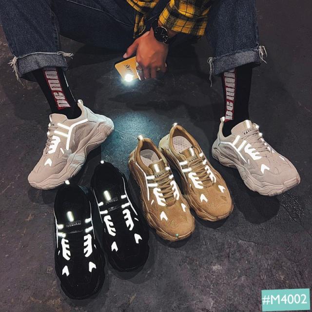 giày thể thao nam phản quang MINSU