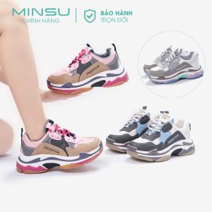 giày thể thao nữ độn đế