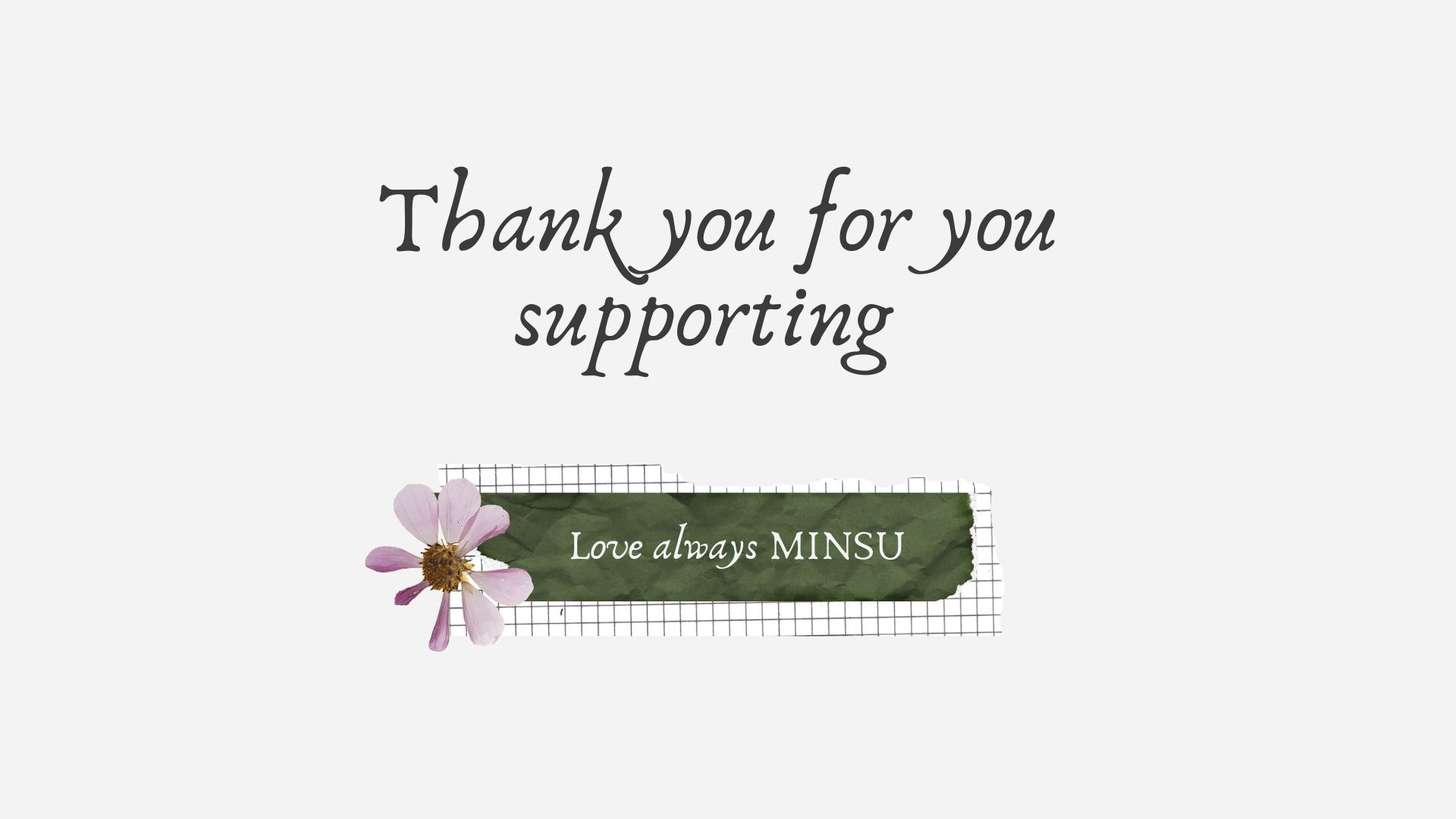 Shop giày MINSU cảm ơn quý khách