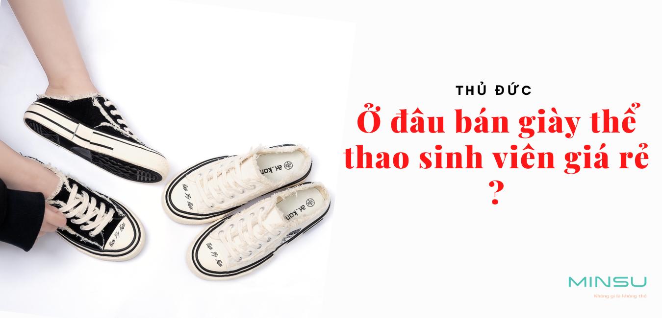 giày thể thao giá rẻ sinh viên