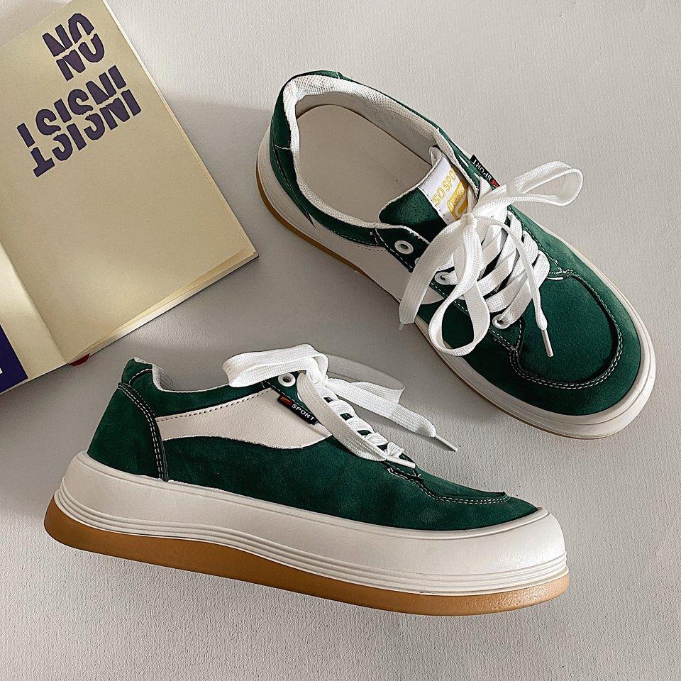giày sneaker bánh mì chunky nam