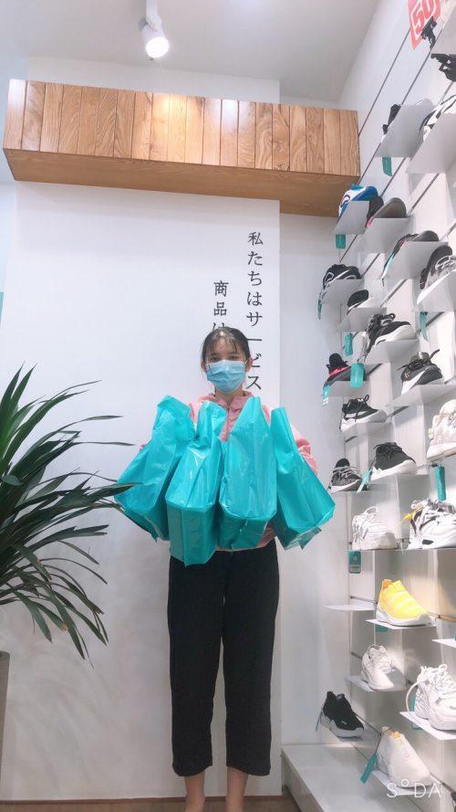 checkin mua giày tại MINSU shop