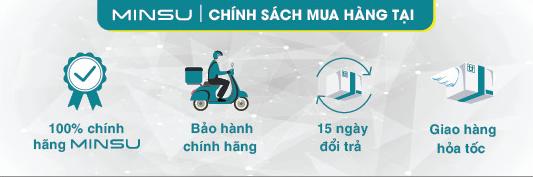 Chính sách giao hàng tại MINSU