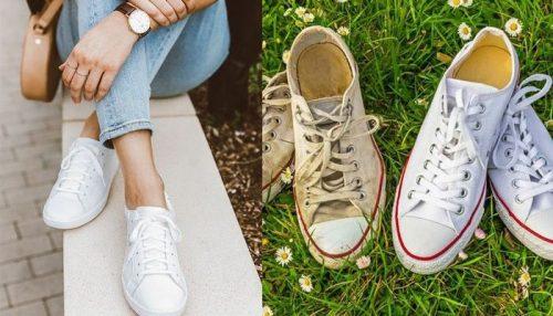 Cách giặt giày thể thao nhanh hiệu quả cao