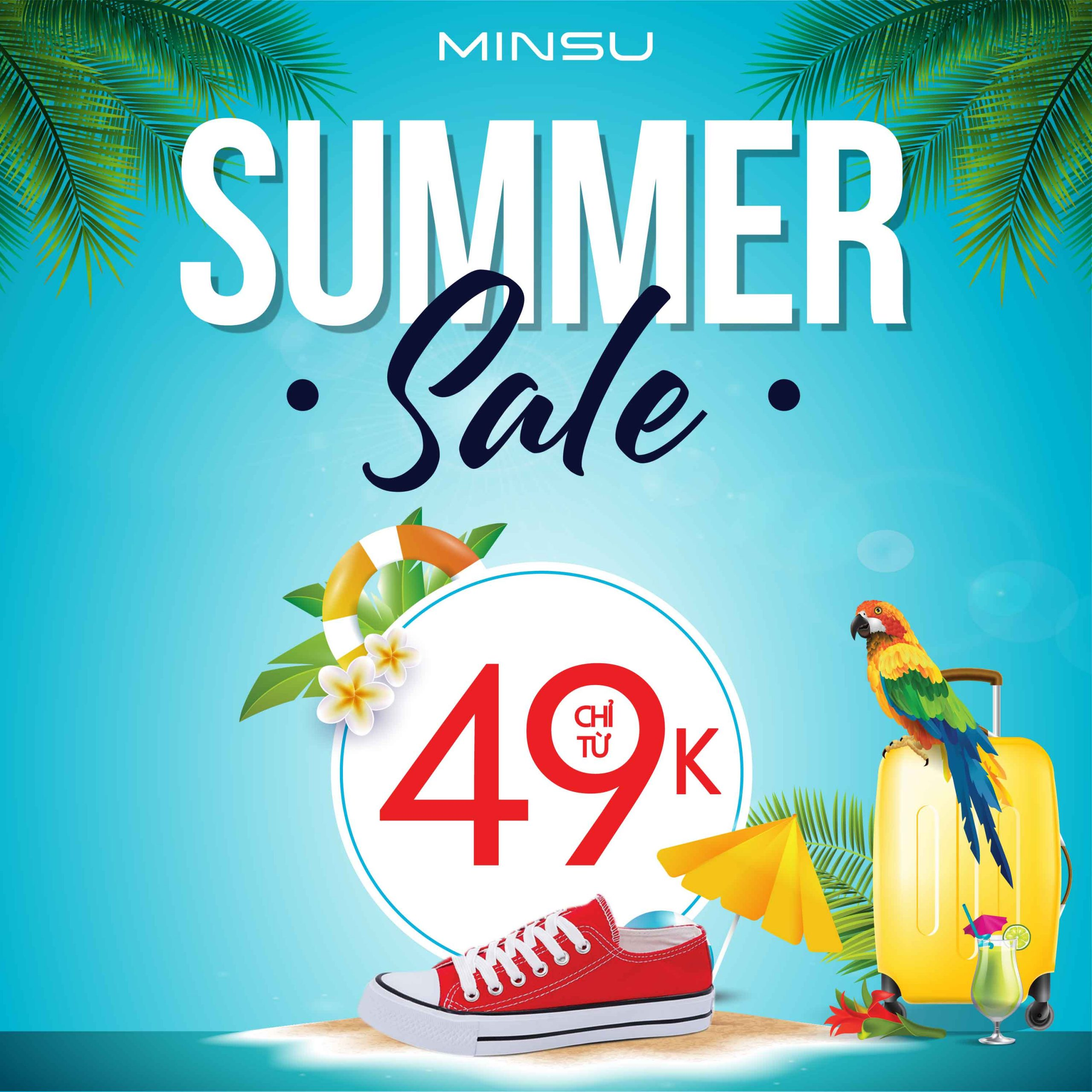 Summer sale giày thể thao