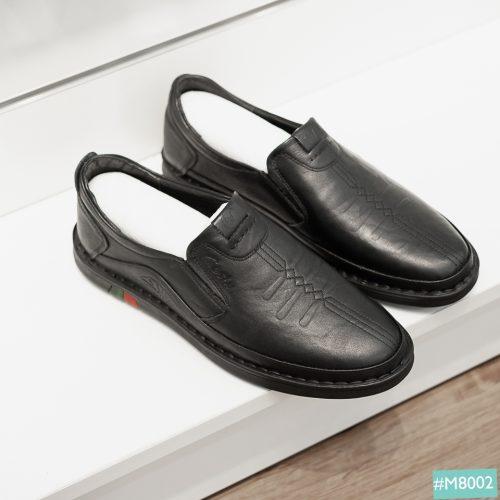 Giày lười nam da thật