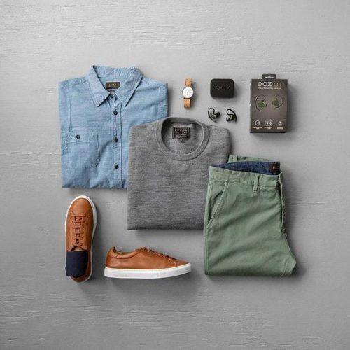 Giày lười dành cho nam đi du lịch