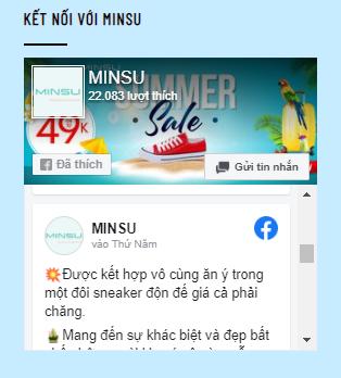 Facebook shop giày MINSU