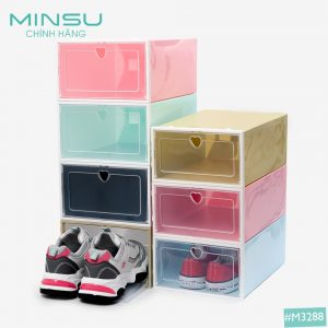 Hộp đựng giày nhựa cứng MINSU