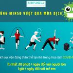 Cùng MINSU chống lại dịch bệnh Covid