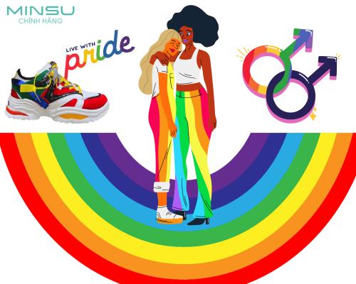 Giày Đôi Dành Tặng Cộng Đồng LGBT