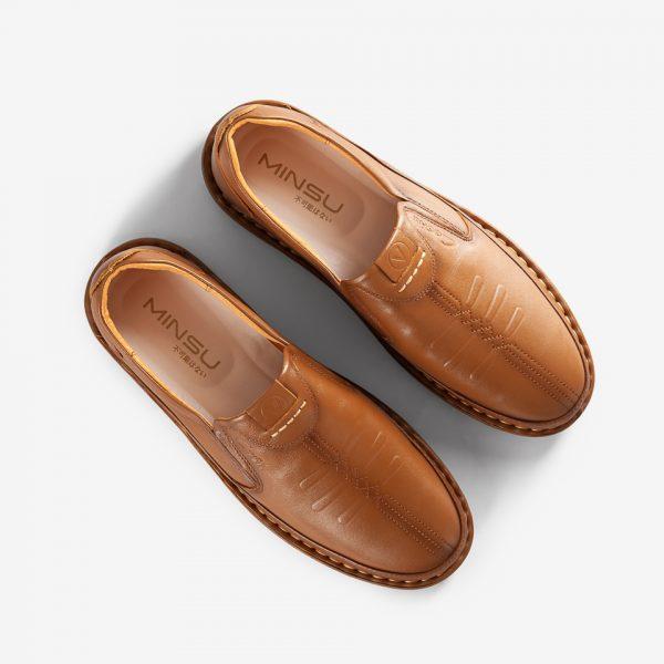 Giày tây, giày lười da bò cap cấp