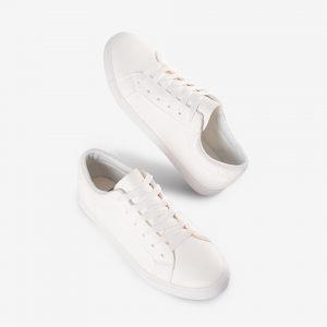 Giày Bata nữ màu trắng đơn giản